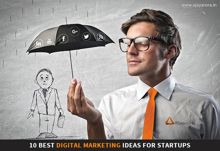 Digital Marketing Ideas for Startups